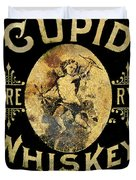 Cupid Whiskey Duvet Cover