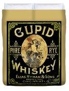 Cupid Whiskey Duvet Cover