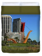 Cupid's Span At The Bay Duvet Cover