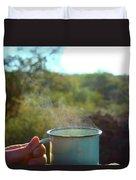 Cuppa Steam Duvet Cover