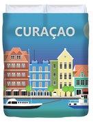 Curacao Horizontal Scene Duvet Cover