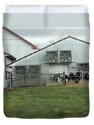 Curious Cows Duvet Cover