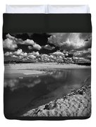 Curl Curl Beach With Dramatic Sky Duvet Cover