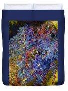 Currant Bush As A Painting Duvet Cover
