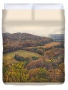 Current River Valley Near Acers Ferry Mo Dsc09419 Duvet Cover