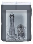 Currituck Beach Lighthouse 2 Duvet Cover