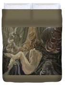 Curtains At Dusk Duvet Cover