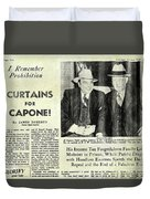 Curtains For Capone Duvet Cover