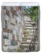 Curved Stone Staircase 235 Duvet Cover