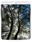 Curvy Trees Duvet Cover