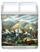 Custer's Last Stand Duvet Cover