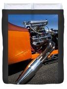 Custom Hot Rod Engine 2 Duvet Cover