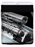 Custom Racing Car Engine Duvet Cover