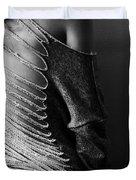 Cut Up Sweatshirt Duvet Cover