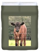 Cute Calf Duvet Cover
