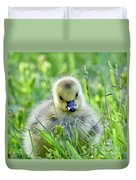 Cute Goose Chick Duvet Cover