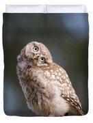 Cute, Moi? - Baby Little Owl Duvet Cover
