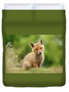 Cute Overload Series - Best Baby Fox Ever Duvet Cover
