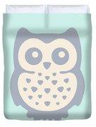 Cute Owl Duvet Cover