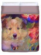 Cute Puppy Duvet Cover