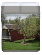 Cutler - Donahoe Covered Bridge - Madison County - Iowa Duvet Cover
