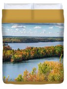 Cuyuna Country State Recreation Area - Autumn #1 Duvet Cover