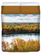 Cuyuna Country State Recreation Area - Autumn #2 Duvet Cover