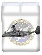 Cv-22b Osprey 71sos Duvet Cover