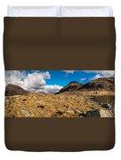 Cwm Idwal Panorama Duvet Cover