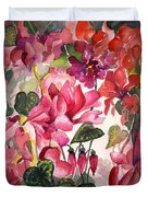 Cyclamen Duvet Cover