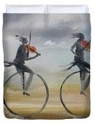 Cycle Of Violins #2 Duvet Cover