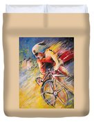Cycling Duvet Cover