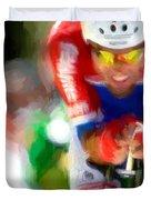 Cyclist Three Duvet Cover