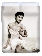 Cyd Charisse, Hollywood Legend By John Springfield Duvet Cover