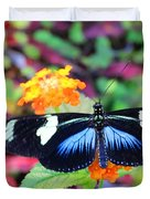 Cydno Longwing Butterfly Duvet Cover