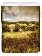 Cygnet Rustic Farming Fields Duvet Cover
