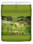 Cyperus Papyrus - Bulrush Duvet Cover