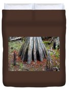 Cypress Footprint Duvet Cover