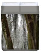 Cypress In The Bayou Duvet Cover