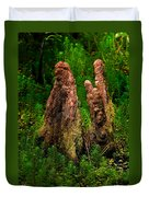 Cypress Knees Duvet Cover