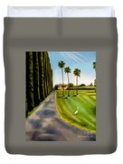 Cypress Palms Duvet Cover