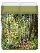 Cypress Pond Delight Duvet Cover