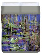Cypress Pond Tranquility Duvet Cover