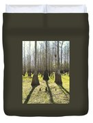 Cypress Sentinals Duvet Cover