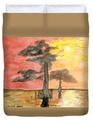Cypress Sunset Duvet Cover