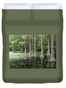 Cypresses In Tallahassee Duvet Cover