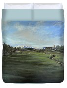 D P World Tour Championship - 18th Tee Duvet Cover