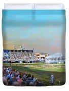 D P World Tour Championship 2013 Duvet Cover