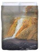 D09126 Outlet Of Midway Geyser Basin Duvet Cover