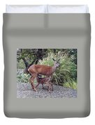 D2b6314 Fawn And Deer Mom Duvet Cover